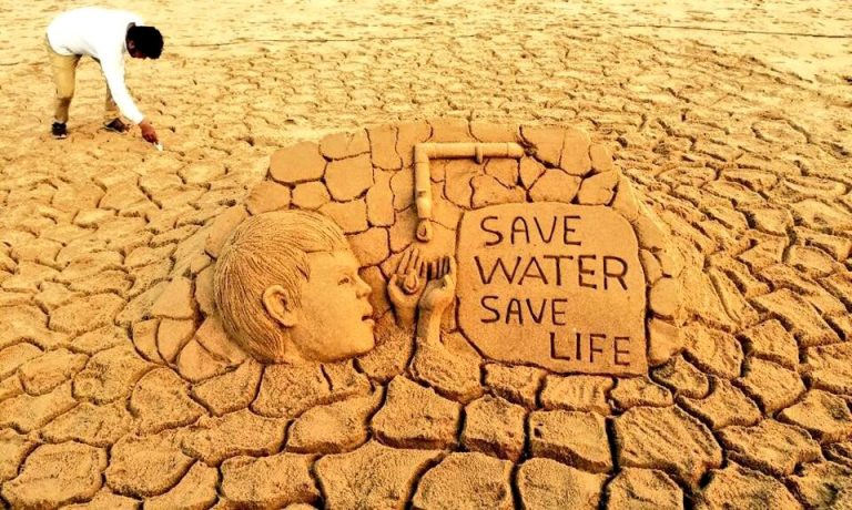 a creative story on the importance of water for all life