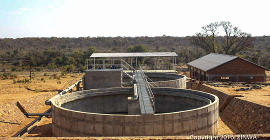 Lupane Water Supply Station - www.zinwa.co.zw